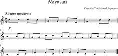Miyasan. Canción Tradicional Japonesa.