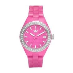 Adidas ADH2106 adidas. $68.00. Date. Water Resistance : 3 ATM / 30 meters / 100 feet. Pink Plastic Strap