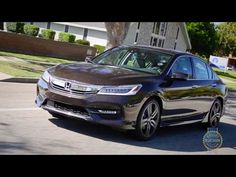 2016 Honda Accord Video Review & Road Test by Kelley Blue Book's Micah Muzio