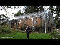 EWAO Couple Builds Greenhouse Around Home to Grow Food and Keep Warm
