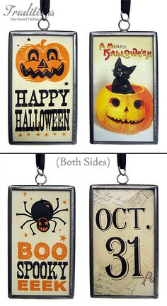 More Halloween charms.  these are from traditions, of my fave online stores.