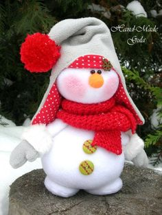 Nieve Christmas Makes, Felt Christmas, Christmas Snowman, Winter Christmas, Christmas Crafts, Christmas Decorations, Christmas Ornaments, Holiday Decor, Christmas 2017