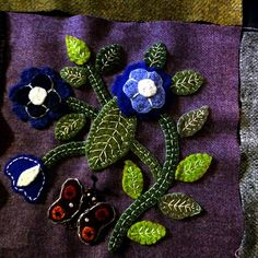 susis quilts: the wool quilt :row five