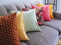 How to Make a Pillow Cover to sew