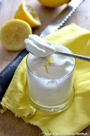 mousse au citron allégée