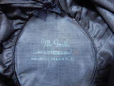 Vintage McGrath Millinery Belle Epoque Burgundy Velvet Feather Trim Toque Hat Hoosick Falls, Gold Lame, Burgundy Wine, Race Day, Hat Pins, Belle Epoque, Black Cotton, Feather, Label