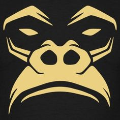 Noir Gorille T-shirts