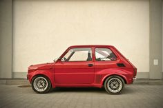 fiat 126 Fiat 500, Car Mods, Unique Cars, Small Cars, Car Wheels, Car Lights, Old Cars, Cars And Motorcycles, Race Cars