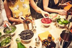 The Cointreau Rickey muddling kitchen brought creative spirits together.
