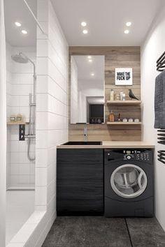 Marta Wiecław Design: Jak ukryć pralkę w łazience?