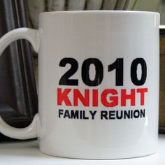 Dixie Midwest - Custom Personalized Family Reunion Coffee Mugs