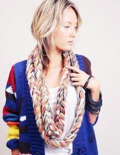 yarn scarf