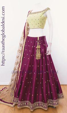 Half Saree Lehenga, Lehnga Dress, Indian Lehenga, Pink Lehenga, Frock Dress, Gharara Designs, Choli Designs, Blouse Neck Designs, Lehenga Designs