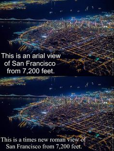 It's all about perspective. - Imgur