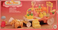 Vintage Pin y Pon carriage box / Caja Pin y Pon carroza sorpresa | Flickr - Photo Sharing!