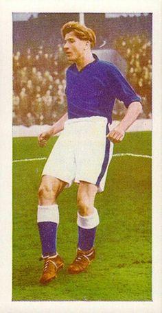 Dave Hickson of Everton in 1956.