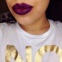 @sephora lip stain in blackberry sorbet & polished purple