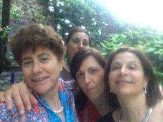 Con le mie compagne di liceo a Torino...a casa di romanuccia