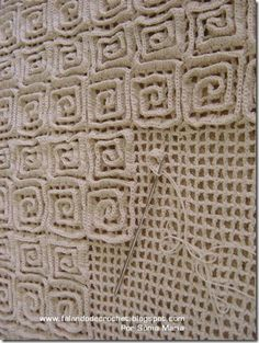 Crochetted Tapestry