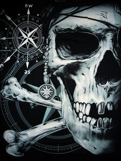 .... Skull and Compas ...