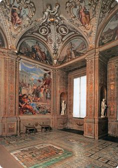 Palatine Gallery and Royal Apartments at the Pitti Palace in Florence