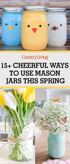 Save these creative spring crafts for later!
