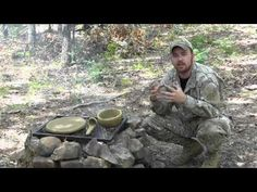 Primitive Survival Tools Series- Clay Skillet, Bowl, and Ladle - YouTube