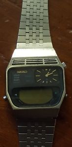 vintage-SEIKO-H239-5070-A2-men-039-s-watch-Digital-Analog-Not-Working-Parts-repair