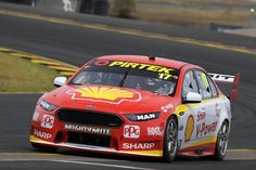 Scott McLaughlin drives the #17 Shell V-Power Racing Team Ford Falcon FGX during the 2018 Supercars Testing Day at Sydney Motorsport Park on February 16, 2018 in Sydney, Australia.