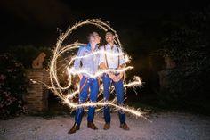 Lightpainting avec Yannick et Aurélien pendant la soirée de leur mariage  Réservez votre shooting photo ou reportage de mariage sur: http://ift.tt/1oPUHC3 - http://ift.tt/1oPUHC3