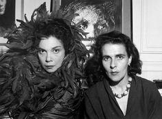 Leonor Fini and Leonora Carrington.