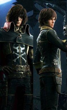 Captain Harlock and Logan