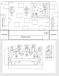 Acts 18:18-21:16; Paul's Third Journey-Eutychus Falls Asleep Coloring Page & Craft