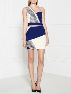 THREE FLOOR Final Touch Cutout Dress - White | veryexclusive.co.uk
