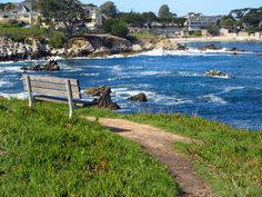 monterey ca    Monterey Bay, California on a brilliant February morning