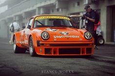 Stance Works - The Jagermeister Porsche 934 at Rennsport Reunion