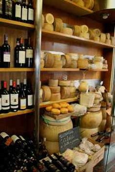Lucca wine and cheese shop