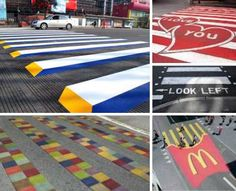 Making life in the Bright Lights (cities) more surreal, one crosswalk at a time