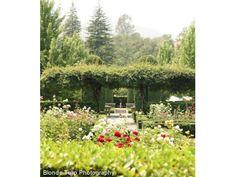 Beaulieu Garden Rutherford Wine Country wedding location garden reception venue 94573
