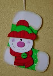 Resultado de imagen para maracas navideñas en foami