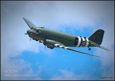 Dakota Fly past.The picture was captured at Bakewe ... by sfrost633