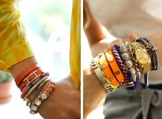Match your jewels to your outfit!