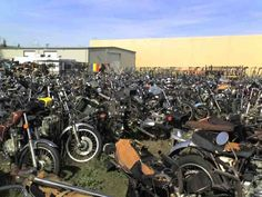 Where motorcycles go to die
