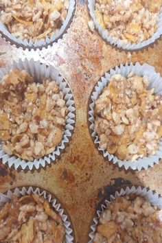 Some gluten, dairy and refined sugar free cereal bars made this mYou can find No sugar snacks and more on our website.Some gluten, dairy and ref. Sugar Free Cereal, No Sugar Snacks, Cereal Bars, Muffin, Dairy, Gluten, Canning, Website, Breakfast