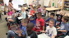 Teaching while using a classroom set of iPads. Socrative method of teaching is featured.