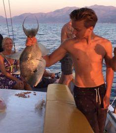 avond-vissen-op-Kreta Crete, Hiking, Walks, Trekking, Hill Walking