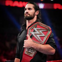 """One night after conquering Brock Lesnar and reclaiming the Universal Title at SummerSlam, The Beastslayer is """"congratulated"""" by The O. Wwe Seth Rollins, Seth Freakin Rollins, Seth Rollins Wallpaper, The Shield Wwe, Rebecca Quin, Wrestling Superstars, Women's Wrestling, Wwe World, Wwe Champions"""