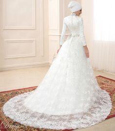 Robe de mariée pour musulmane