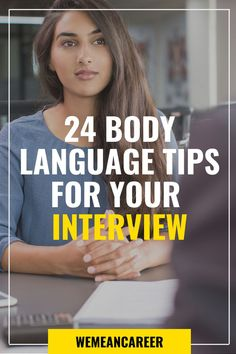 Looking for job interview tips? Not only your attire but also body language counts during job interviews. Read our article and learn the ultimate body language tips to ace each interview. Interview Coaching, Interview Skills, Job Interview Tips, Job Interviews, Job Career, Career Planning, Career Coach, Career Advice, Job Hunting Tips