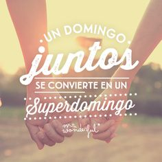 Un domingo juntos se convierte en un superdomingo. | by Mr. Wonderful*